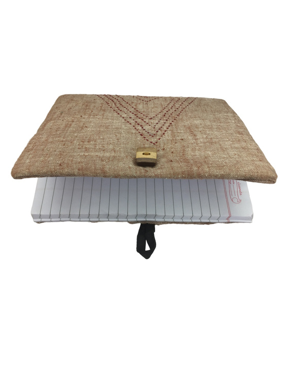 Notebook with embroidered cover : STN01-5