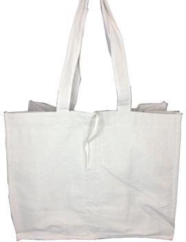 Canvas vegetable bag - white : MSV01-1-sm