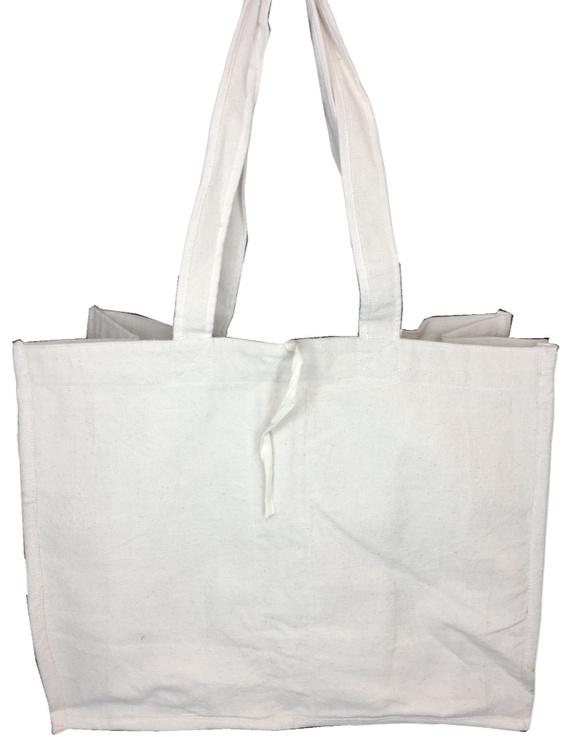 Canvas vegetable bag - white : MSV01-1