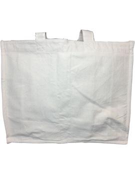 Canvas vegetable bag - white : MSV01-2-sm