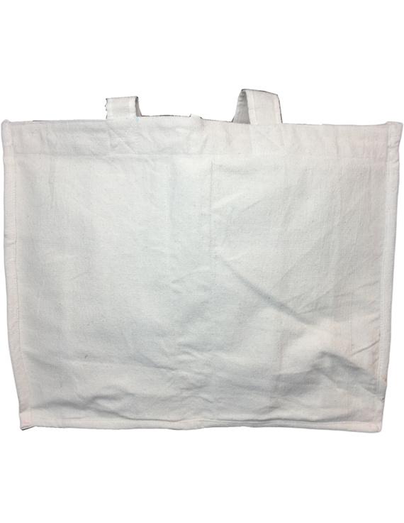 Canvas vegetable bag - white : MSV01-2