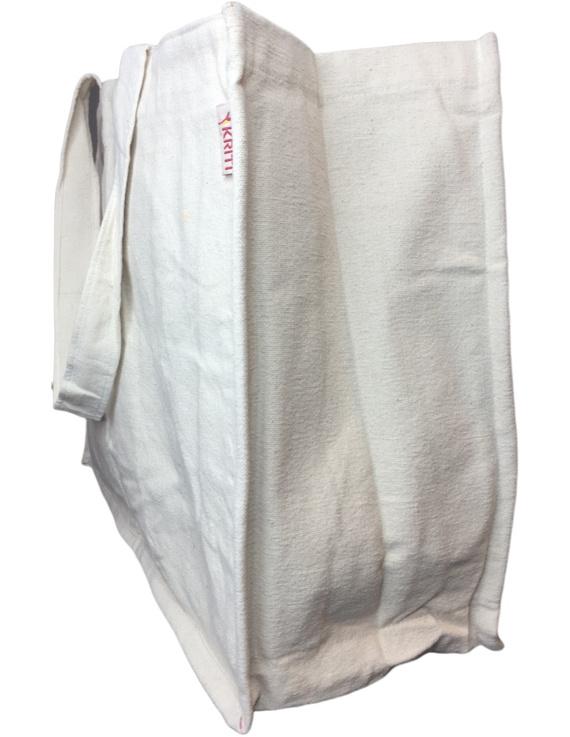 Canvas vegetable bag - white : MSV01-3