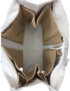 Canvas vegetable bag - white : MSV01-4-sm