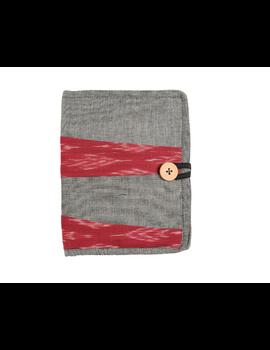 Reusable diary sleeve with diary - Grey : STJ05-Ruled-5-sm