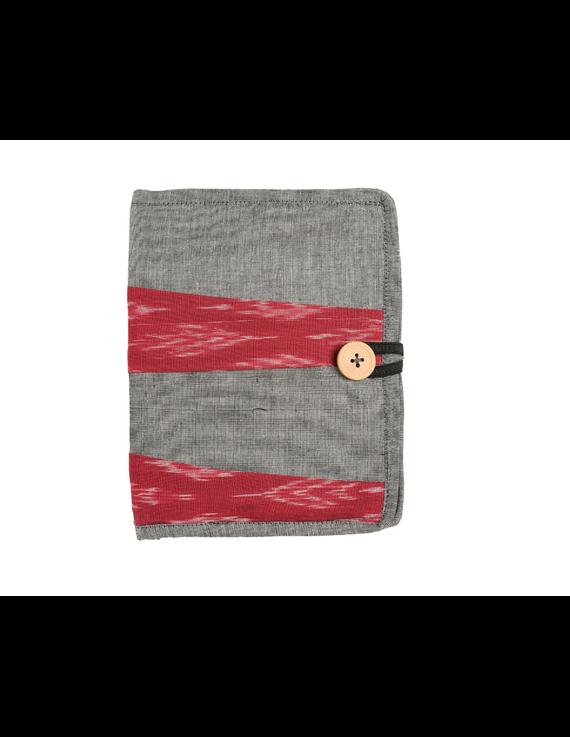 Reusable diary sleeve with diary - Grey : STJ05-Ruled-5