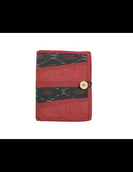 Reusable diary sleeve with diary - maroon : STJ04-Ruled-5-sm
