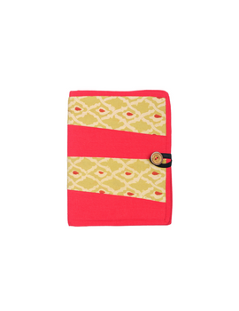 Reusable diary sleeve with diary - red : STJ01-Ruled-4-sm
