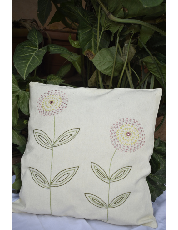 Embroidered cushion cover : HCC34-HCC34