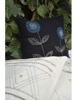 Embroidered cushion cover : HCC35-2-sm