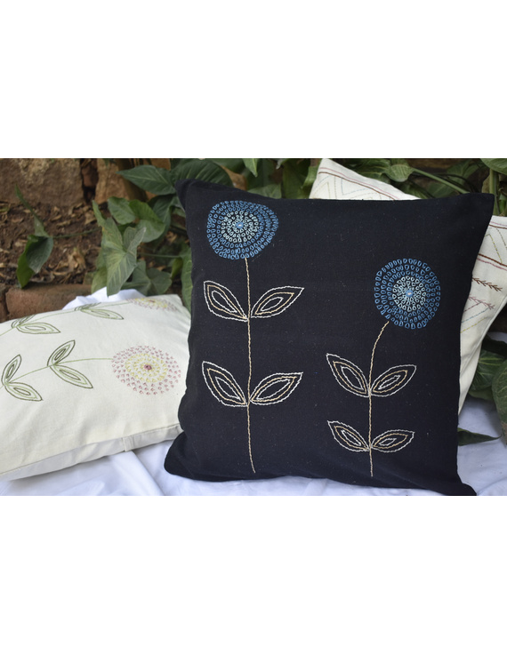 Embroidered cushion cover : HCC35-1