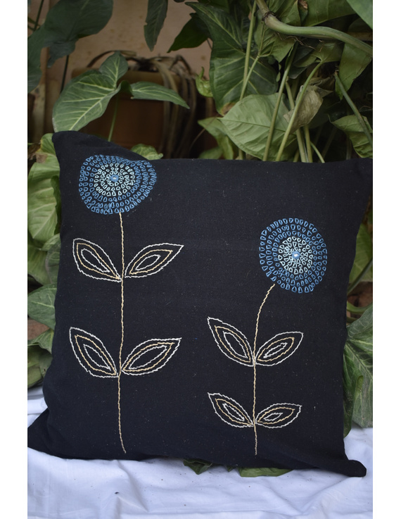Embroidered cushion cover : HCC35-HCC35