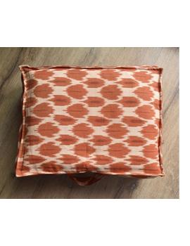 Saree storage bag in ikat cotton with set of ten saree sleeves : MSK01-1-sm