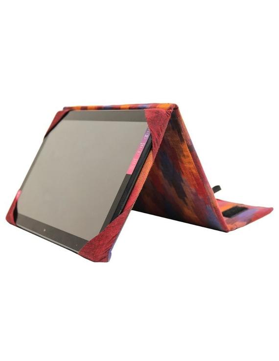 Maroon ikat tablet sleeves : LBT02-LBT02