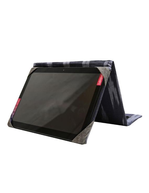Blue ikat tablet sleeves : LBT01-LBT01