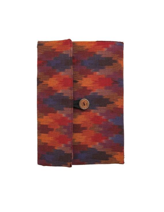 Maroon ikat tablet sleeves : LBT02-3