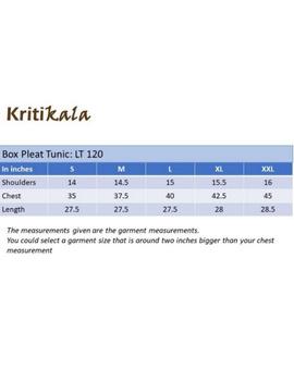 Pure linen box pleat tunic designed with shirt collar : LT120-Vintage rose-XL-4-sm
