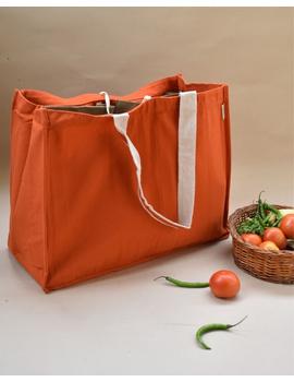 Canvas vegetable bag - orange : MSV02-MSV02-sm