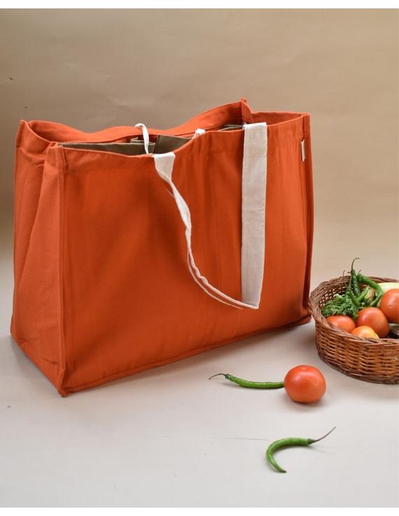 Canvas vegetable bag - orange : MSV02-MSV02