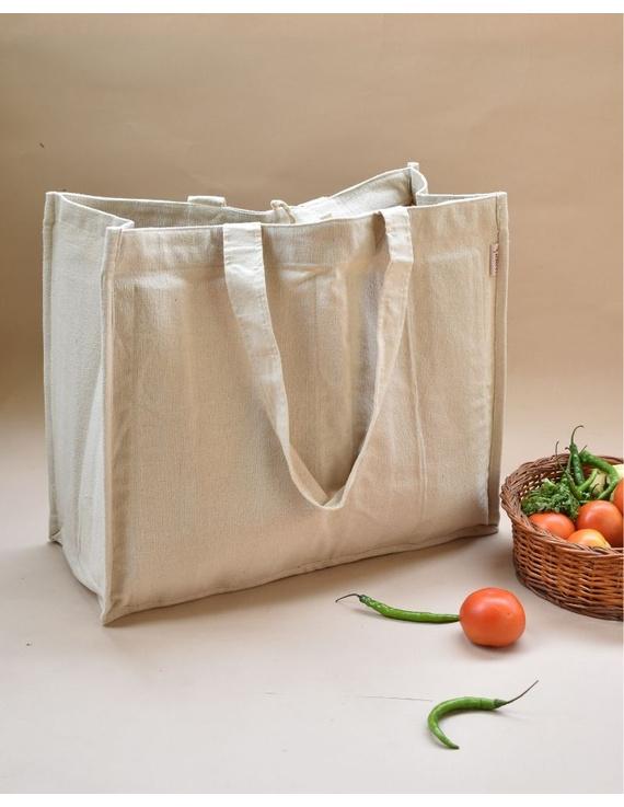 Canvas vegetable bag - white : MSV01-MSV01