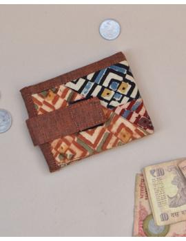 Narrow unisex wallet - brown : WLN01-WLN01-sm