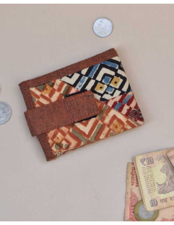 Narrow unisex wallet - brown : WLN01-WLN01