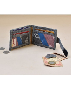 Narrow unisex wallet - grey : WLN02-1-sm