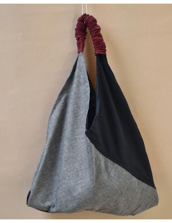 Black and grey cross strap bag : TBR01-TBR01