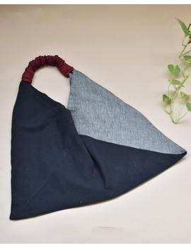 Black and grey cross strap bag : TBR01-1-sm