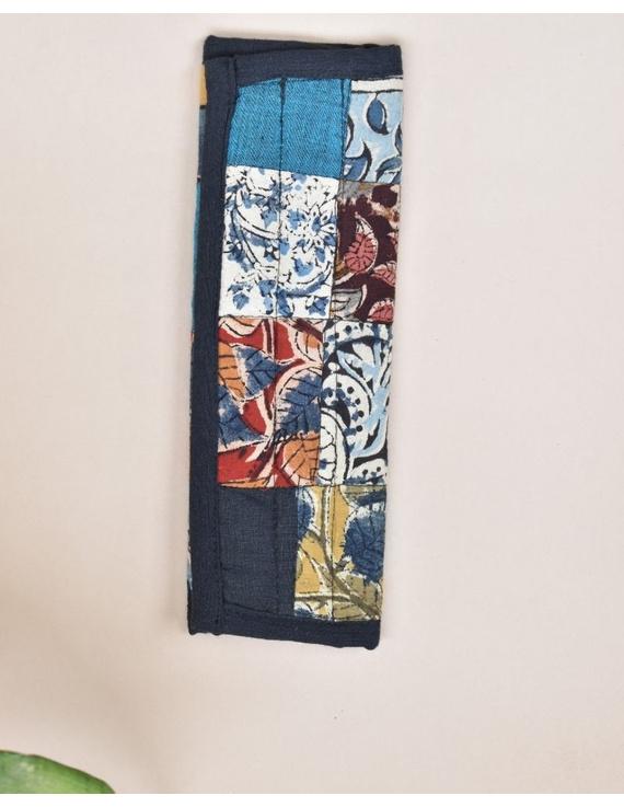 Seat belt cover  - blue : MSS01-MSS01