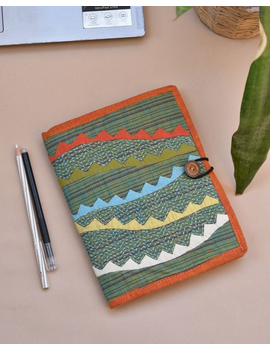 Hand embroidered diary sleeve - STJ06-STJ06A-sm