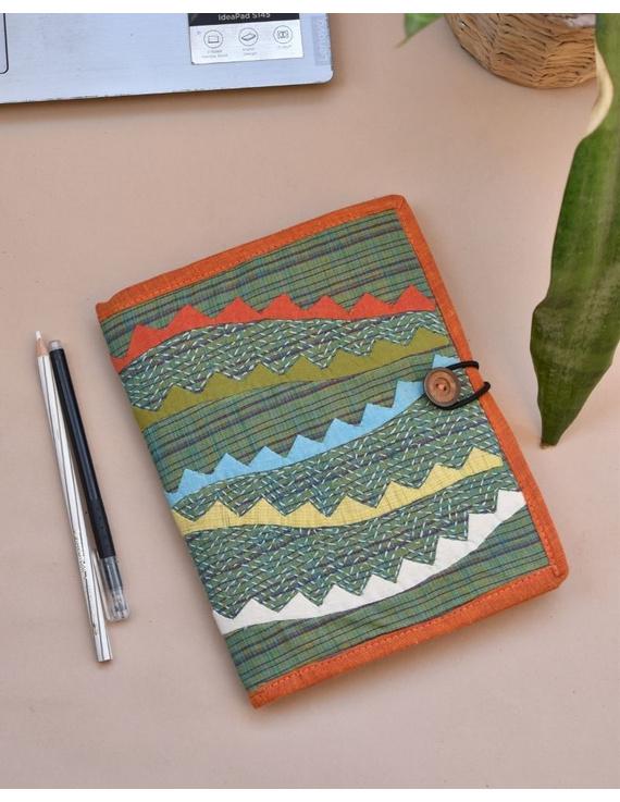 Hand embroidered diary sleeve - STJ06-STJ06A