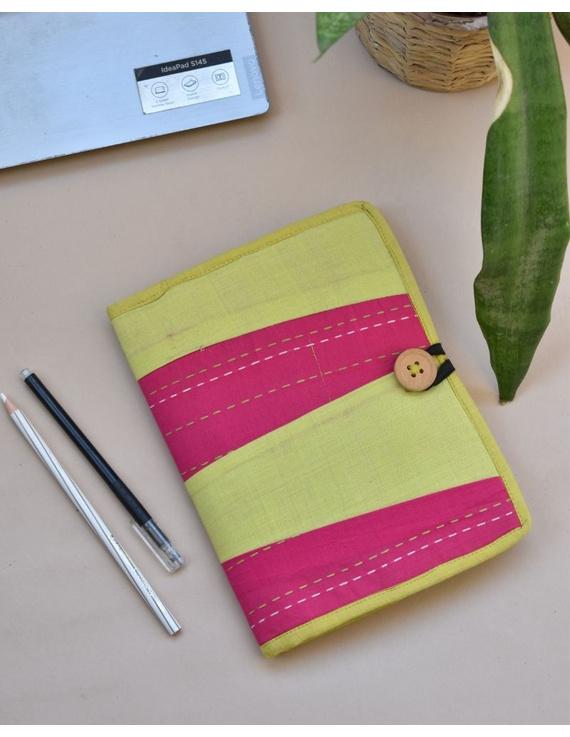 Reusable diary with sleeve - green : STJ03-STJ03-ruled