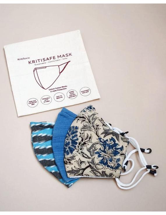 """Kritisafe"" mask pack of three: KFM04-KFM04A"