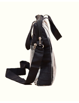 Ikat Laptop Bag with Cross body strap : Black : LBM03-3-sm