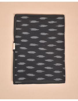 Black Ikat File Folder : SFB02-2-sm