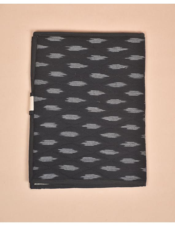 Black Ikat File Folder : SFB02-2