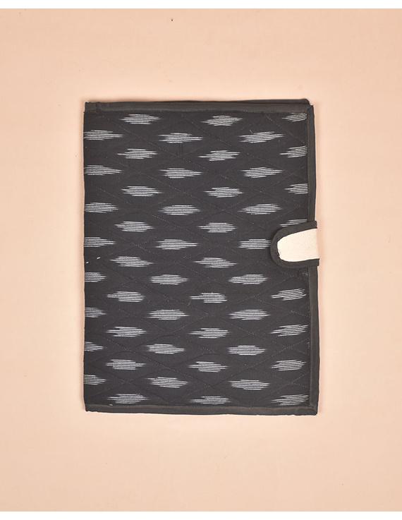 Black Ikat File Folder : SFB02-1