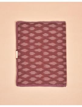 Maroon Ikat File Folder : SFB05-2-sm
