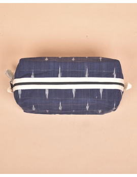 Blue Ikat Travel Pouch : VKP06-4-sm