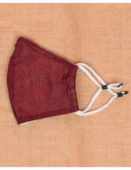 """Kritisafe"" handloom mask with filter and noseclip: KFM06-2-sm"