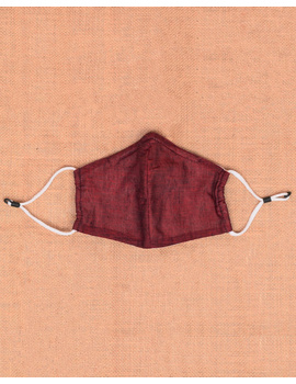 """Kritisafe"" handloom mask with filter and noseclip: KFM06-3-sm"