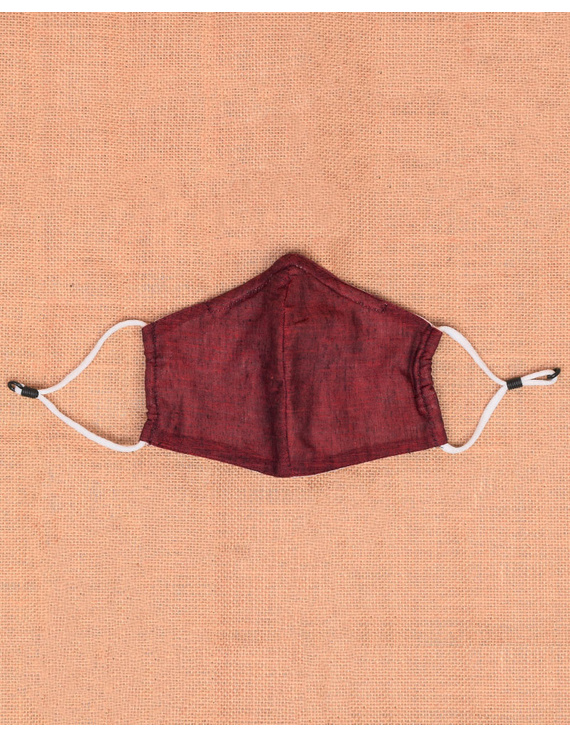 """""""Kritisafe"""" handloom mask with filter and noseclip: KFM06-3"""