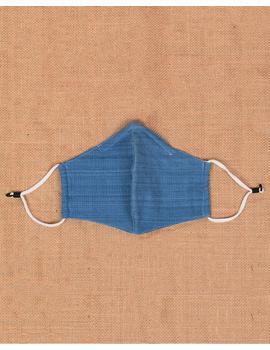 """Kritisafe"" handloom mask with filter and noseclip: KFM07-3-sm"