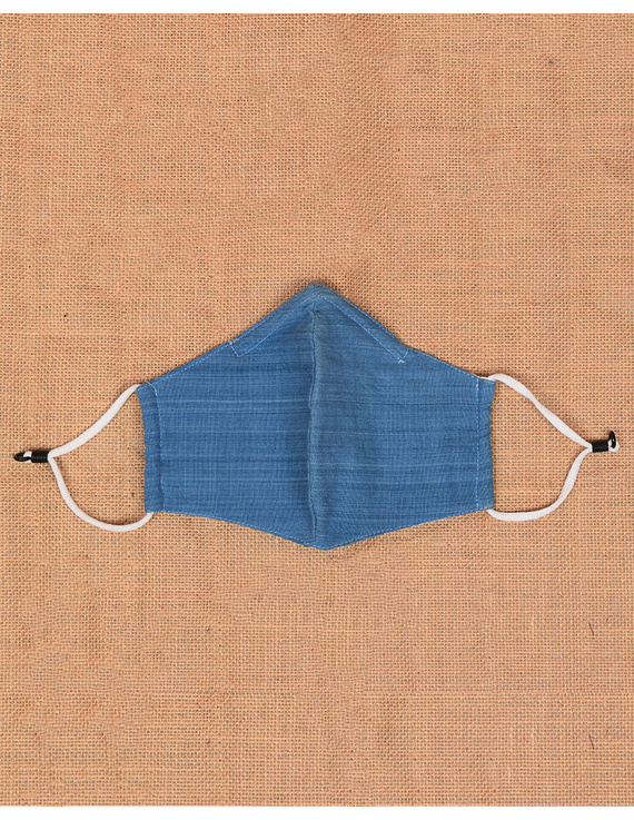 """""""Kritisafe"""" handloom mask with filter and noseclip: KFM07-3"""