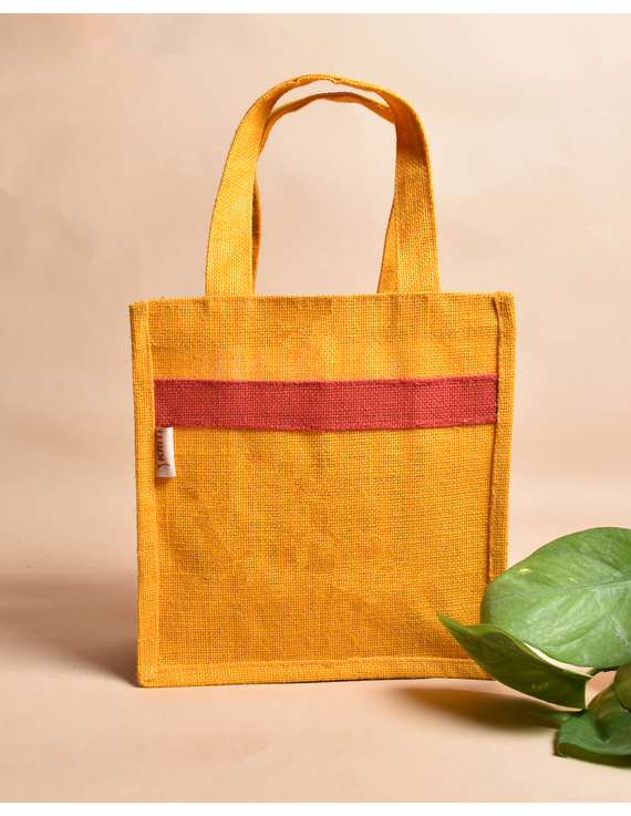 Jute lunch bag or jute gift bag : MSJ04-2