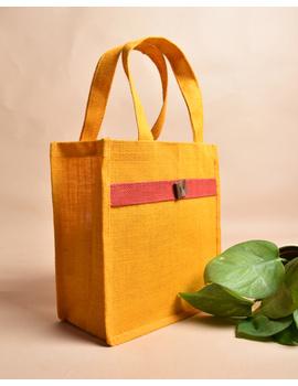 Jute lunch bag or jute gift bag : MSJ04-1-sm