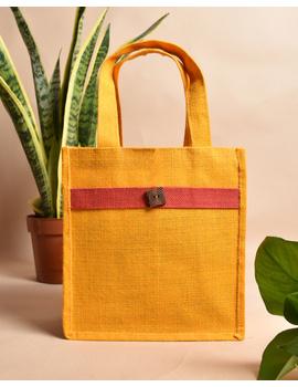 Jute lunch bag or jute gift bag : MSJ04-MSJ04-sm