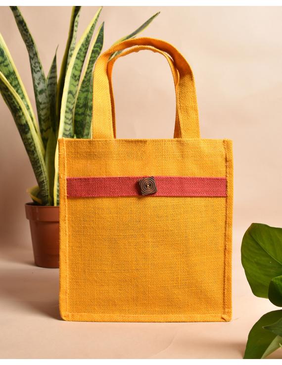 Jute lunch bag or jute gift bag : MSJ04-MSJ04