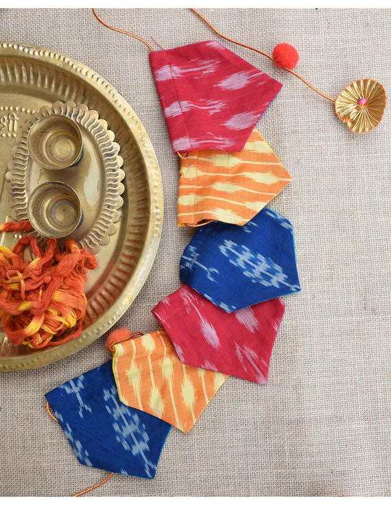 Ikat Toran Or Bunting Decoration For Walls And Doors : HWD03-HWD03D