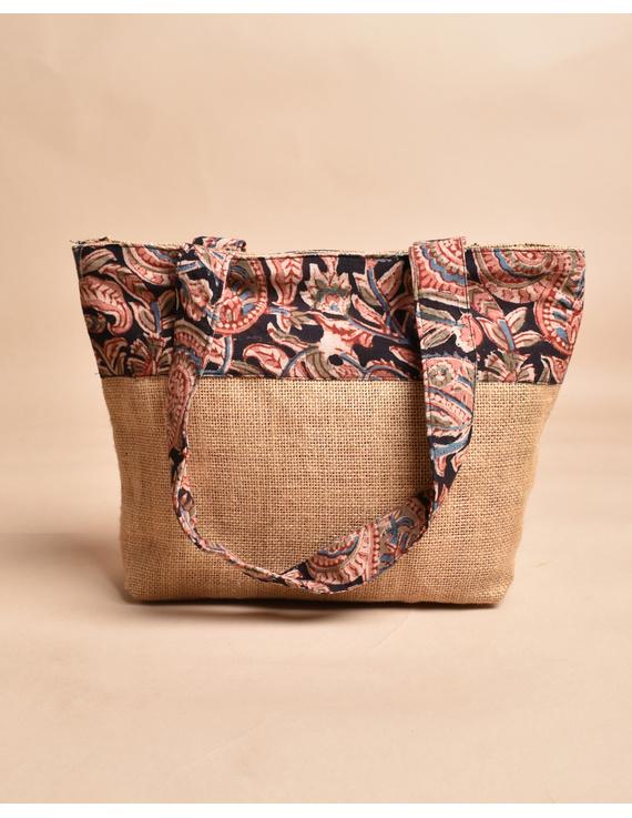 Soft jute tambulam or gift bag : MSJ03-1
